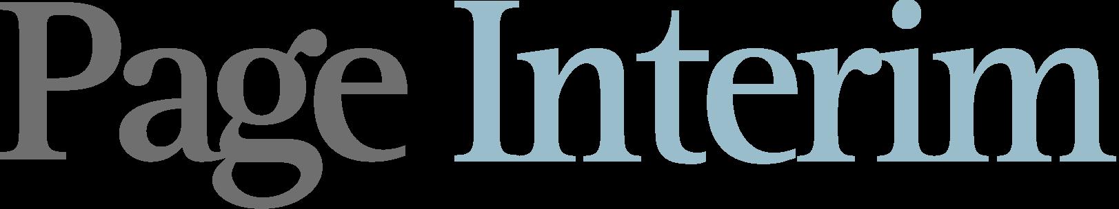 Page Interim Logo